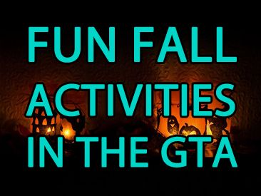 Looking to have some #autumn fun? Check out some of these activities in the GTA!