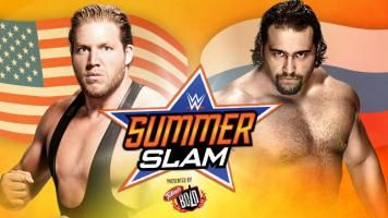 Jack Swagger will face Rusev at SummerSlam in a Flag Match. #WWE