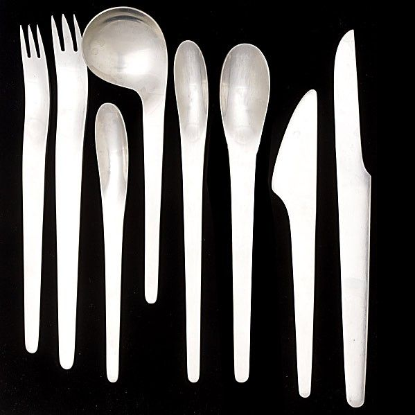 1068: ARNE JACOBSEN; A. MICHELSEN (Denmark); Flatware : Lot 1068