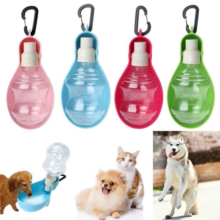 250ml 500ml Pet Water Feeder Dog Bottle Drinking Blue Red: Best 25+ Dog Water Bowls Ideas On Pinterest