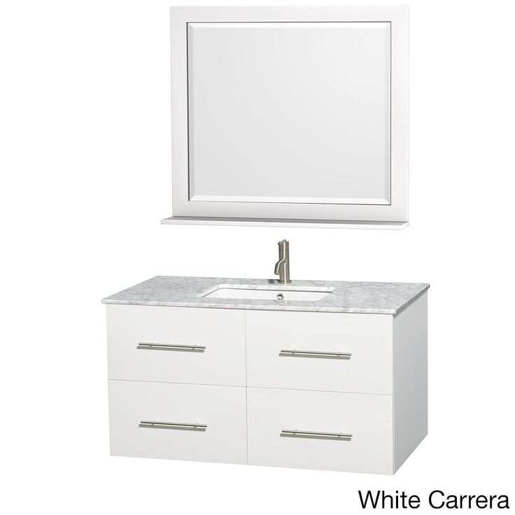 White Bathroom Vanities 36 Inch best 25+ 42 inch vanity ideas only on pinterest | 42 inch bathroom