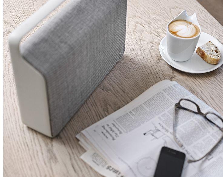 wireless office speakers. copenhagen wireless loudspeaker by vifa features custom kvadrat cover office speakers s