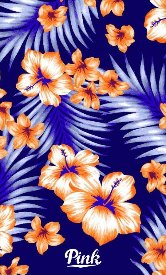 Victoria's Secret Pinkapalooza tropical wallpaper