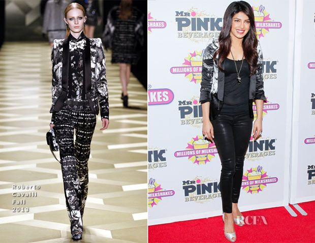 Priyanka Chopra In Roberto Cavalli – 'The Exotic' Millions Of Milkshakes Launch