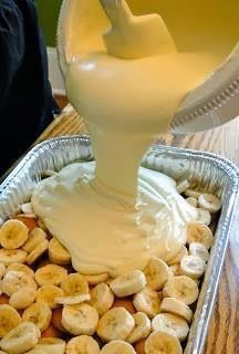 "Paula Deen's ""Not Yo' Mama's Banana Pudding"" it's like crack"