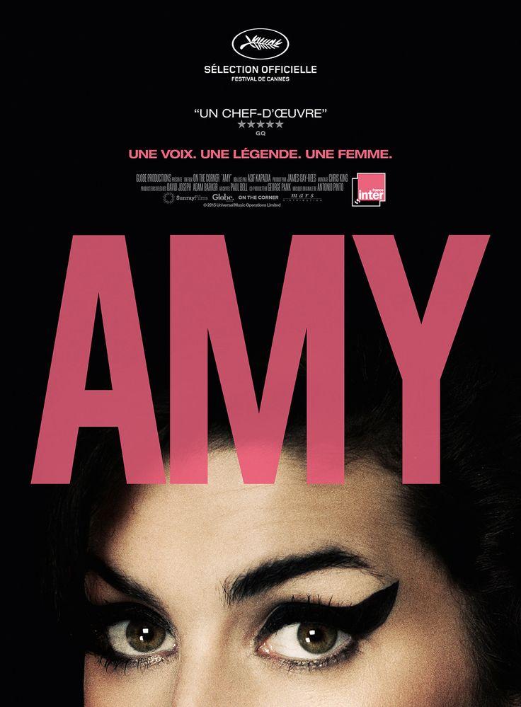 Amy est un film de Asif Kapadia avec Amy Winehouse, Mark Ronson. Synopsis : Ce film est présenté en séance de minuit au Festival de Cannes 2015Dotée d'un talent unique au sein de sa génération, Amy Win