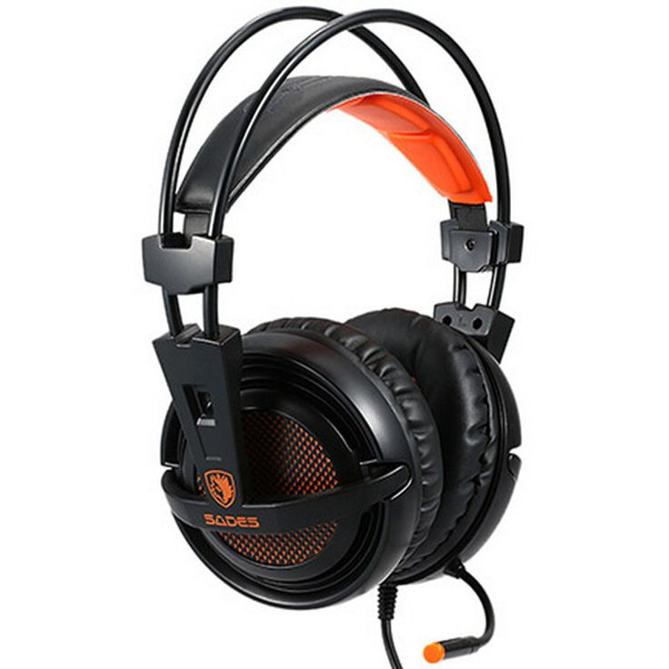 New Useful SADES A6 7.1 Surround Sound USB Gaming Headphones Over-Ear Game Headset Noise Isolating with Mic For Computer Game //Price: $US $26.59 & FREE Shipping //     #apple