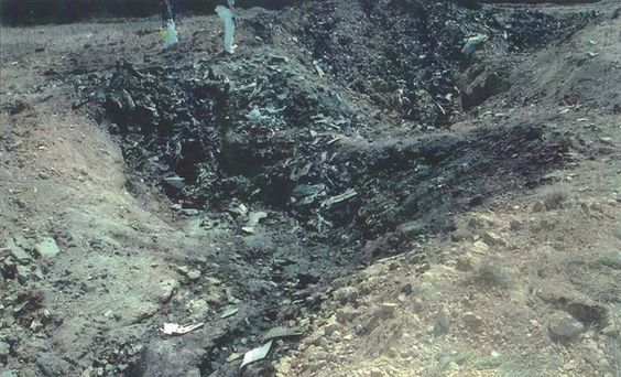 Flight 93 crash site 9/11/2001 Pennsylvania..the State of America's Genesis: