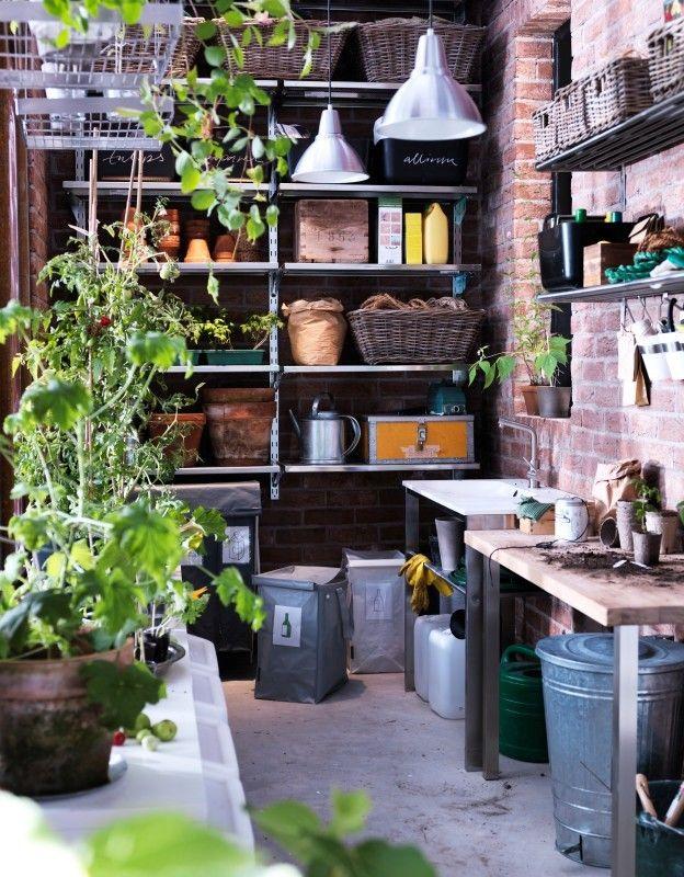 ikea potting shed greenhouse