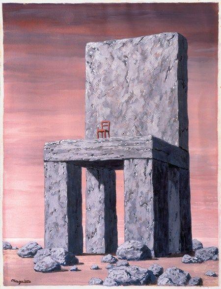René Magritte, La légende des siècles, ca.1952-1960, Courtesy Galerie Hopkins-Custot, Paris