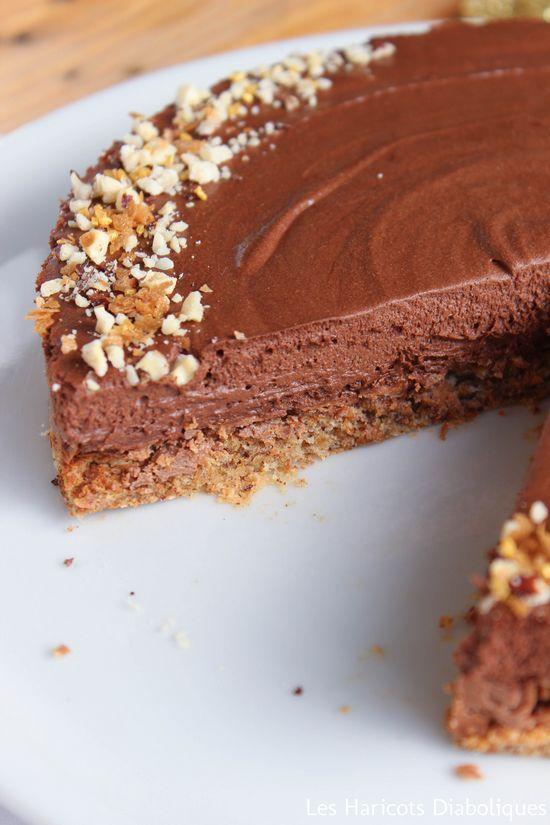 Schokoladen-Haselnuss-Kuchen {Weihnachten}   – Dessert