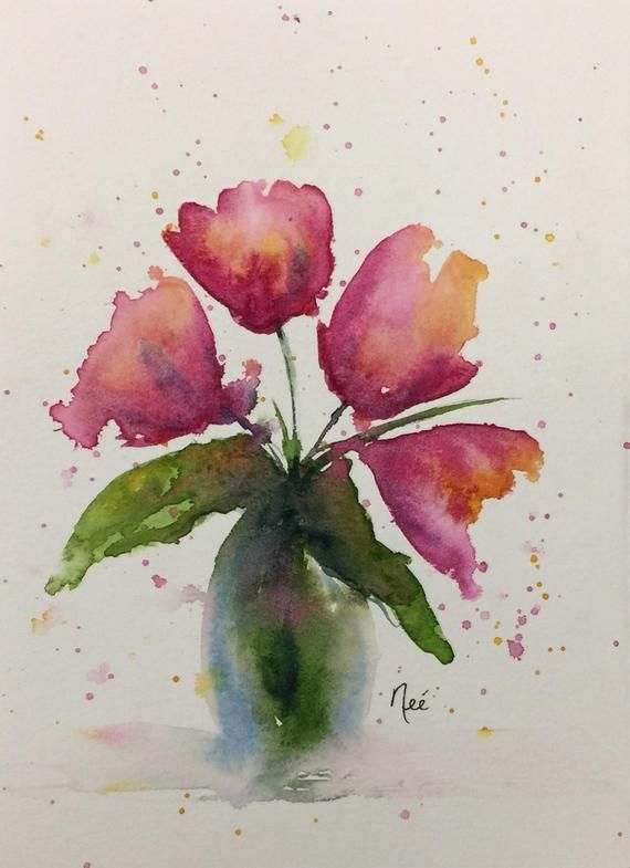 This Is An Original Watercolor Painting Painted With Professional