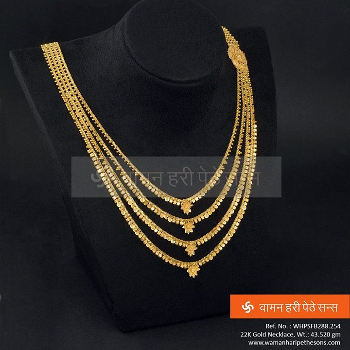 This four line gold elegant Necklace is all set to make you look Glamorous. #jewelerycollection #indianjewellery #jewellerylove #traditionaljewellery #goldjewellery #ethnicjewellery #wedding #indianwedding #gift #necklace