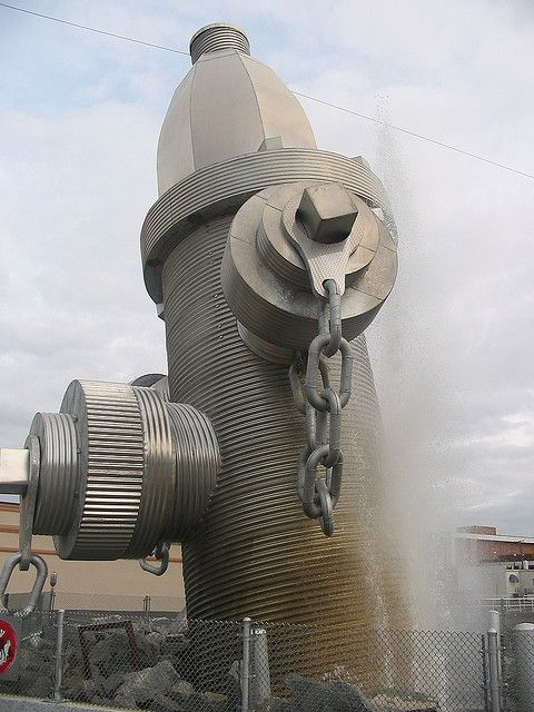 The World's Largest Fire Hydrant - Columbia, SC