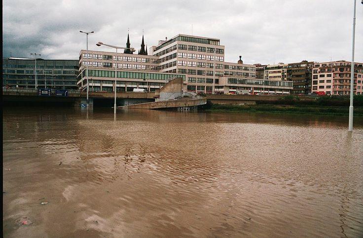 Povodně 2002, Praha. #Mediatelcz #Povodne