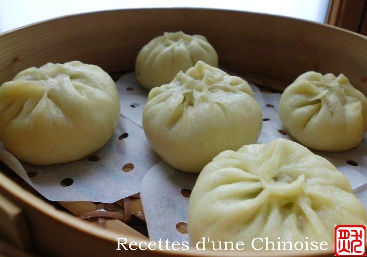 Recettes d'une Chinoise: BaoZi (petit pain fourré à la vapeur) 包子 bāo zi