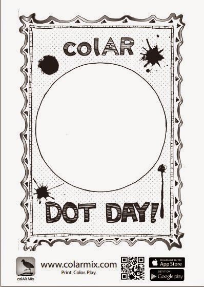 Colar app coloring pages : Dot day dots and app on pinterest