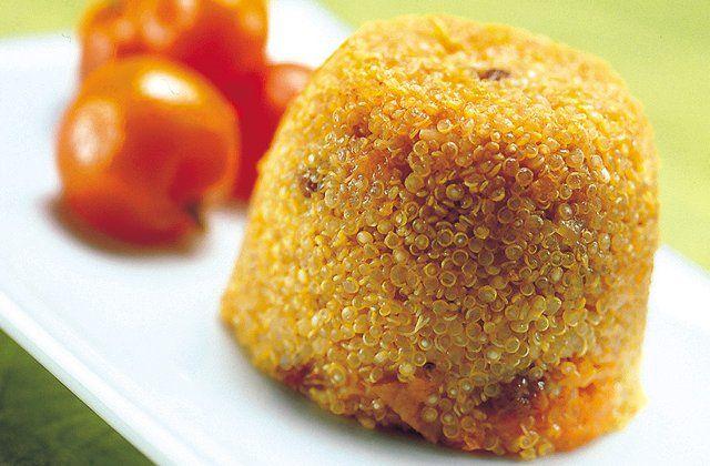 Quinoa pudding recipe - a healthy dessert idea. Click for the recipe.