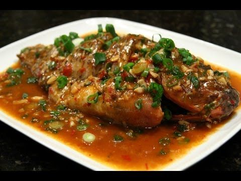 Whole Fish with Spicy Bean Paste 豆瓣鱼