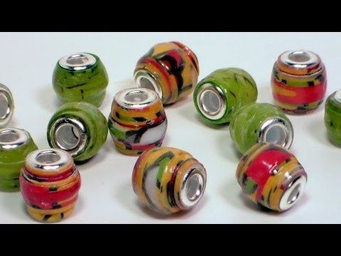 Really cute idea: pandora style paper beads. From the Frugal Crafter