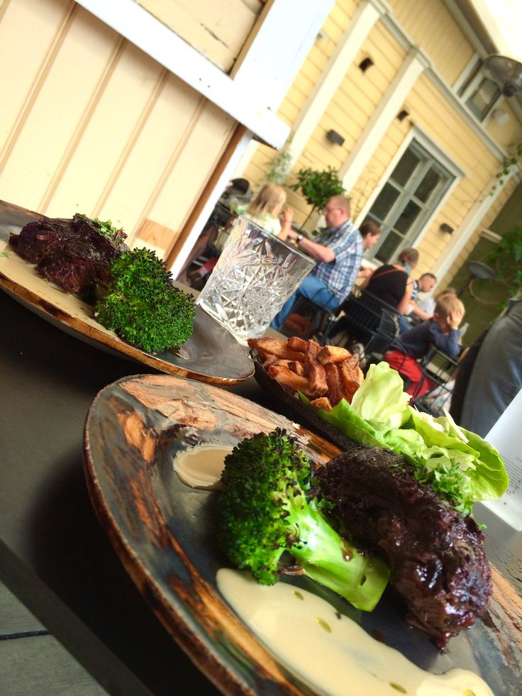 Ox cheek @ Meat District in old Porvoo. Buonissimo!!