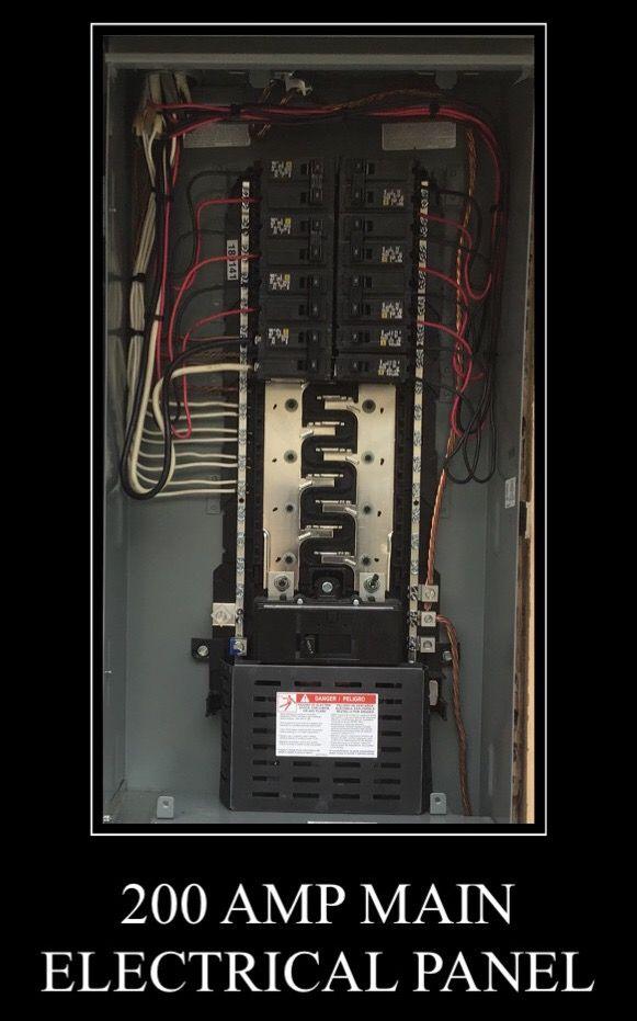 200 Amp Main Electrical Panel #diamondbar #walnut #rowlandheights ...