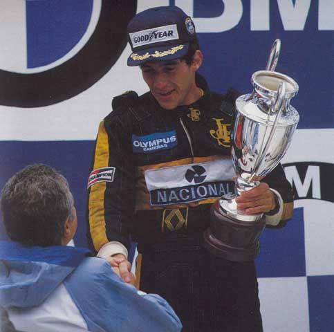 Ayrton Senna First win!