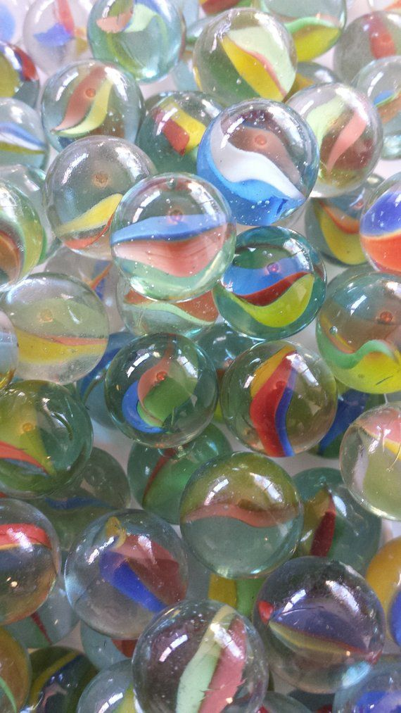 Lot Of 40 Vintage Marbles Multi Colored Glass Marbles Cat S Eye Marbles Vintage Toys And Games Marbles Glass Marbles Marble Pictures City Decor