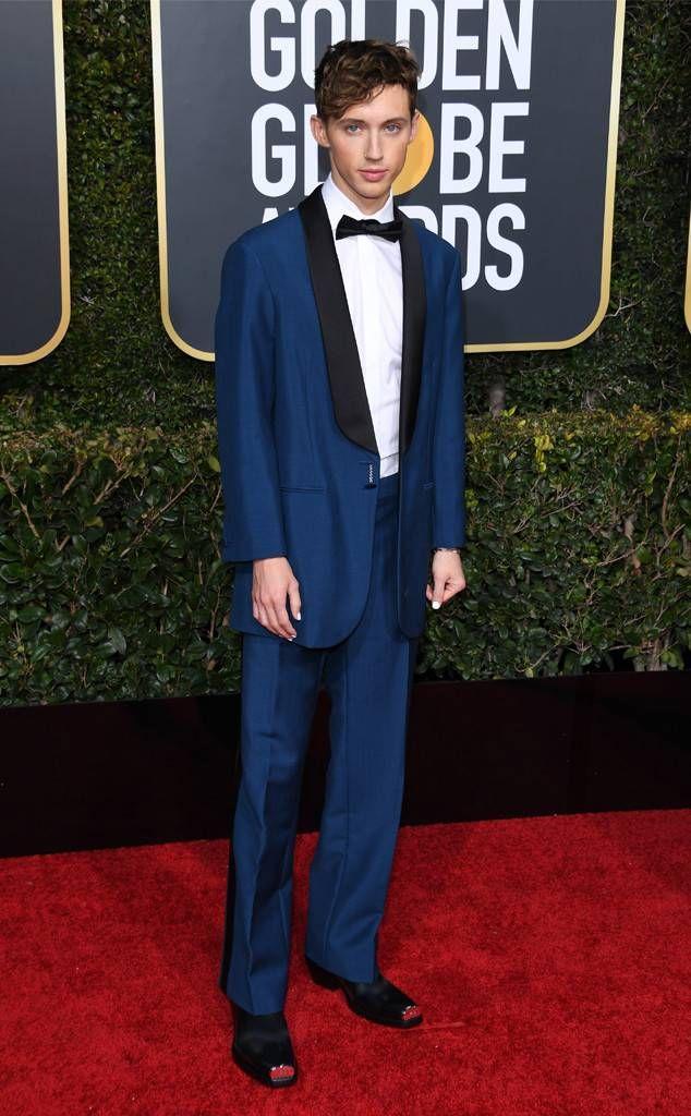 Os looks masculinos do Golden Globes 2019 - MODA SEM CENSURA   BLOG DE MODA  MASCULINA 5d21b5adfd