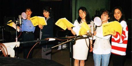 90s Sailor Moon voice actresses