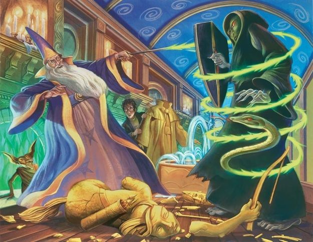 """Dueling Wizards"" 
