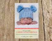 Have yourself a Merry Little Christmas - Perfect for baby's first Christmas  For more options visit: https://www.etsy.com/shop/RSVPinvitationsbyme?section_id=15298754&ref=shopsection_leftnav_5
