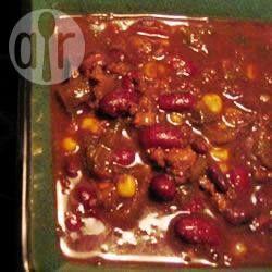 Veganistische chili @ allrecipes.nl
