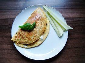 omlet, kolacja, przepis dieta, przepis na lato