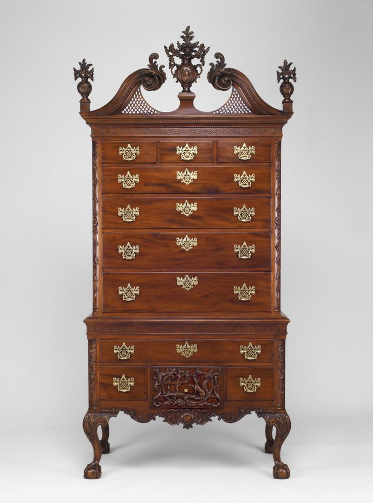 Philadelphia Museum of Art - Collections Object : The Fox and the Grapes High Chest of Drawers