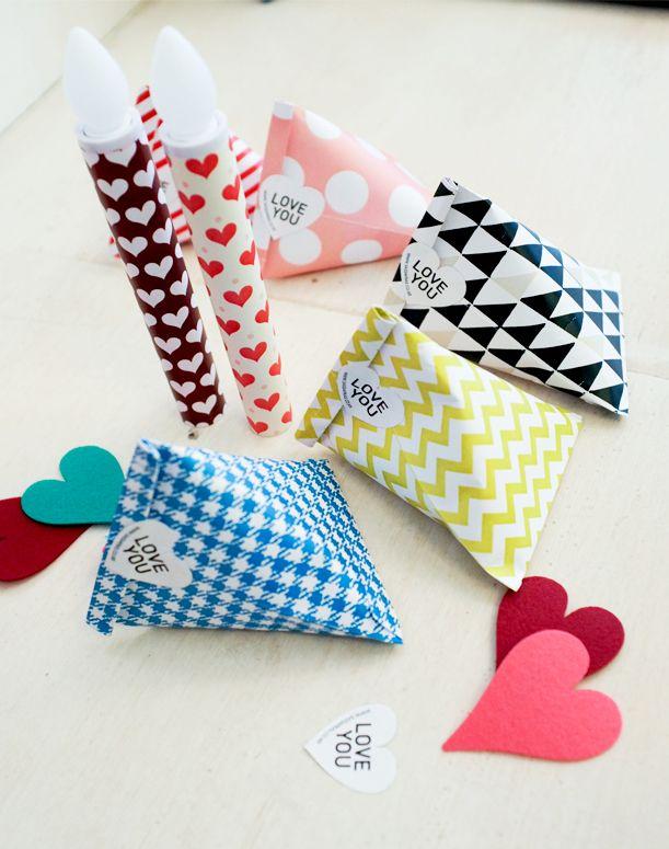 [바보사랑] 작지만 센스있는 포장 /선물/포장지/기프트백/디자인소품/데코/장식/발렌타인/파티