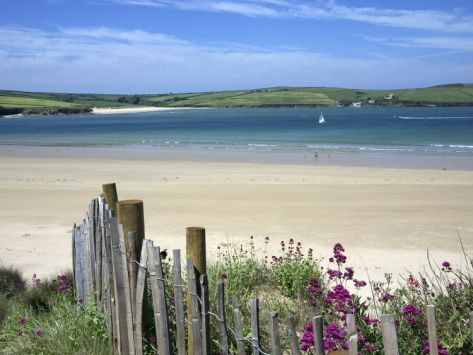Padstow Bay, Padstow, Cornwall, England, United Kingdom, Europe Photographic Print at Art.co.uk