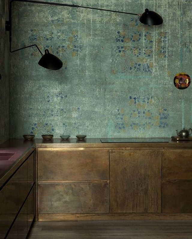 Know zero details on this kitchen, other than the fact it's v gorge ✨ from #martynthompsonstudio tumblr by @dovedrury http://amzn.to/2pWyPdv