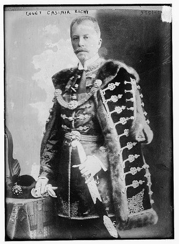 Count Kasimir Hyppolit Georg Ludwig Zichy of Újfalu (1868-1955) between ca. 1915 and ca. 1920., George Grantham Bain Collection (Library of Congress), 1 negative : glass ; 5 x 7 in. or smaller.
