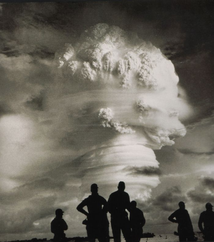 Atomic Test on Enewetak Atoll