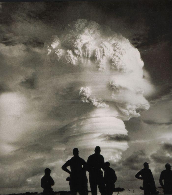 Atomic Test on Enewetak Atoll