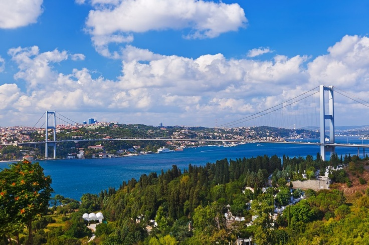 Istanbul, the only city in the World located on two continents!