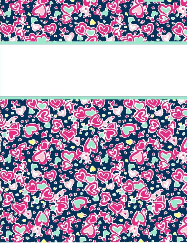 binder covers29 http://happilyhope.wordpress.com/2013/07/25/my-cute-binder-covers/