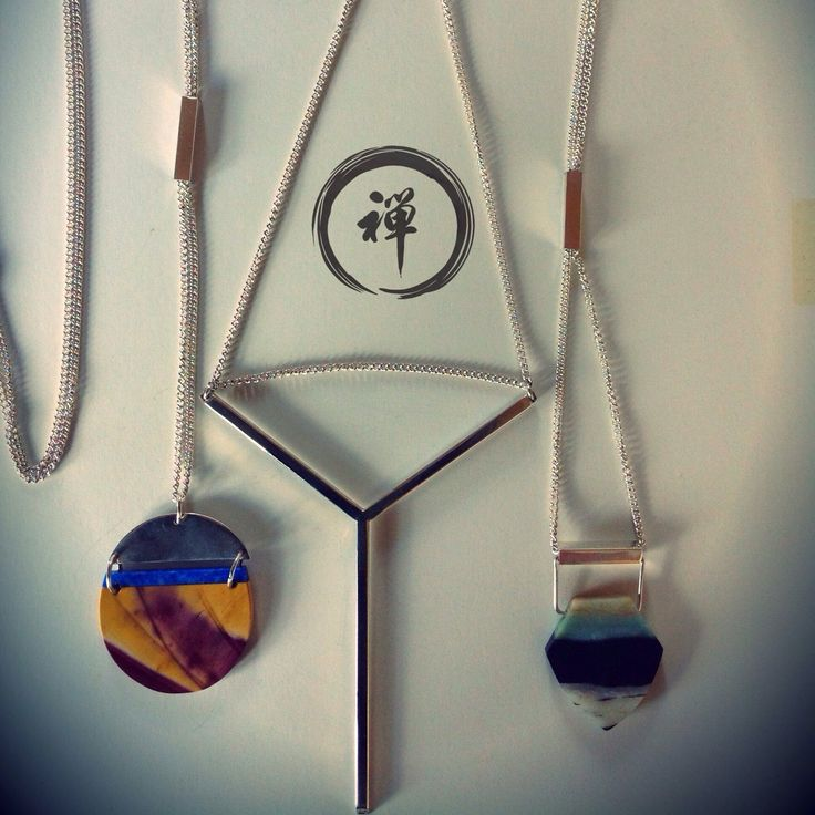 Loving these handmade original necklaces. Don't follow a crowd, where something original!