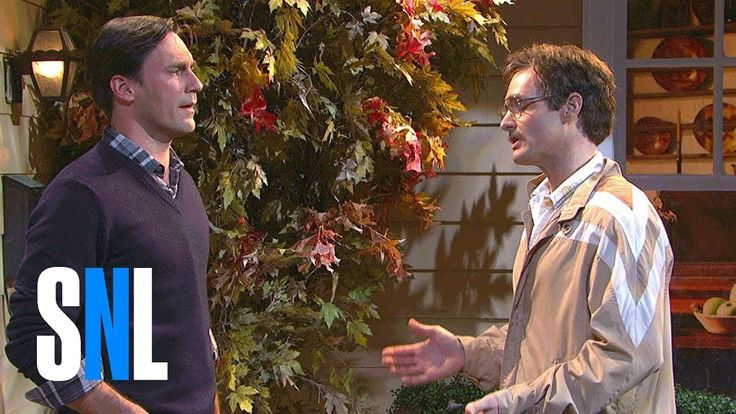 SNL - Trick-or-Treat. One of my favorite SNL sketches of all time featuring Jon Hamm and Will Forte.