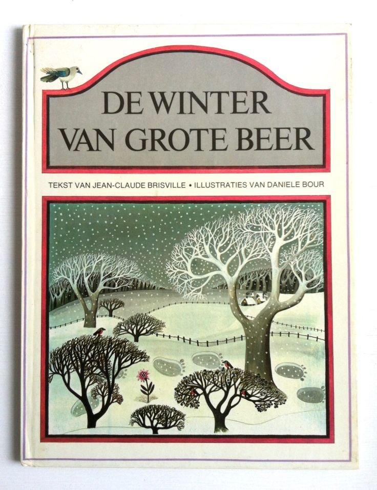 De winter van de grote beer, a vintage Dutch children's book by Brisville door lalinia op Etsy