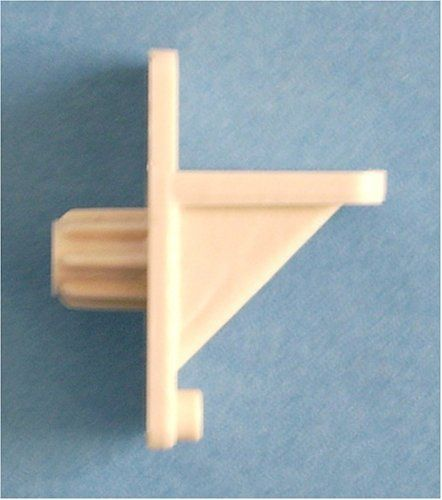 Shelf Support Almond Plastic 1/4