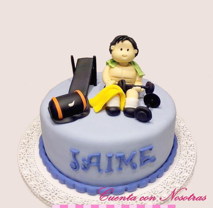 Torta pesas Torta gimnasio Gym Cake