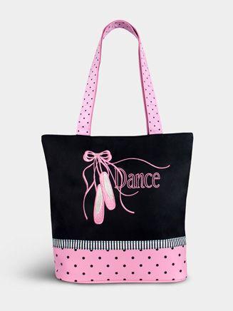 Pointe Shoe Tote (Dance Bag/Luggage/Fiber Bag/Book Bag XVIII)