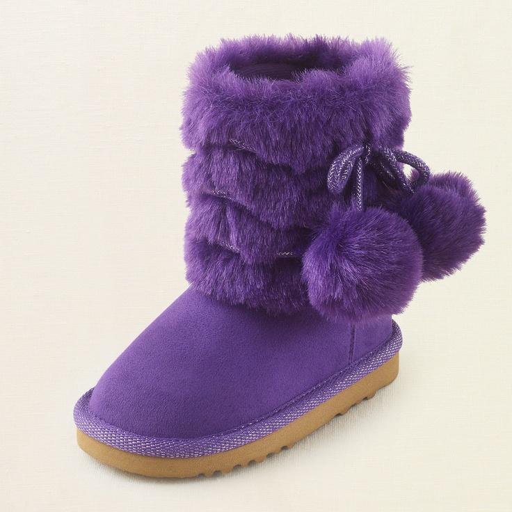 Baby Girl Shoes Pom Pom Chalet Boot Children S